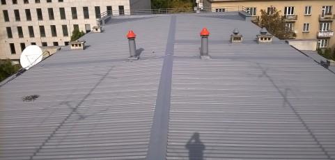 Malowanie dachu o pow. 2000 m²